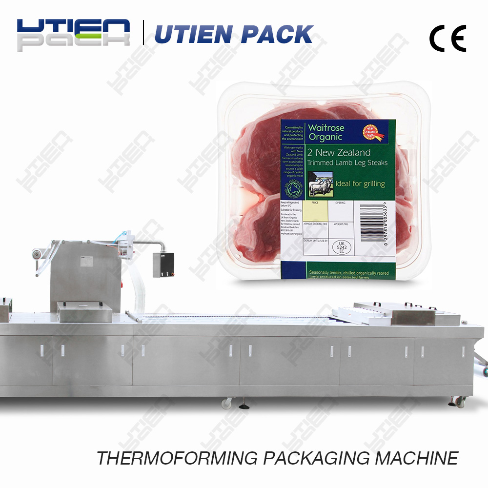 lamb leg steak thermoforming machine