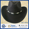 new style black cowboy hat from China