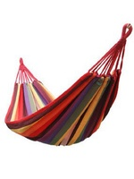 China Wholesale Outdoor Furniture Cheap Swing Cotton camping Hammock / Hammock Swing