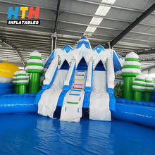 Cheap prices commercial games giant inflatable floating sea water park