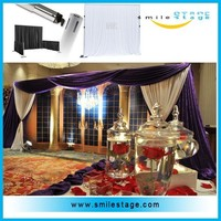 High quality telescopic pipe and drape for sale