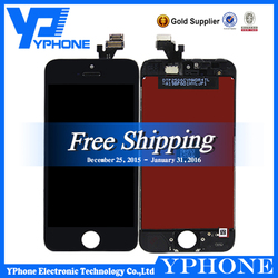 100% tested for apple iphone 5 lcd, for iphone 5 lcd digitizer, for iphone 5 screen replacement 64gb unlocked