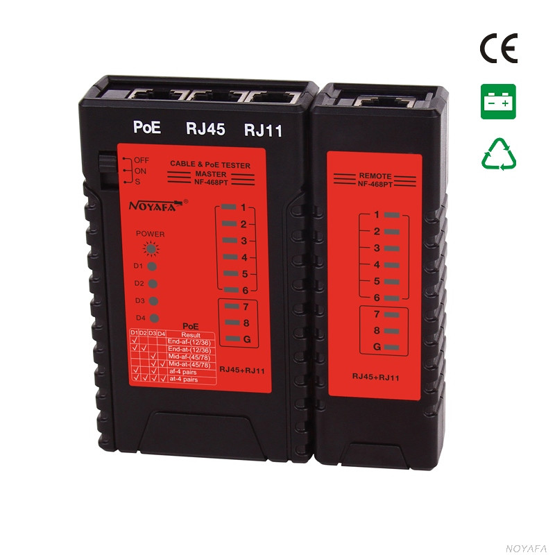 Hot seller POE & Network cable tester multifunction electrical instrument