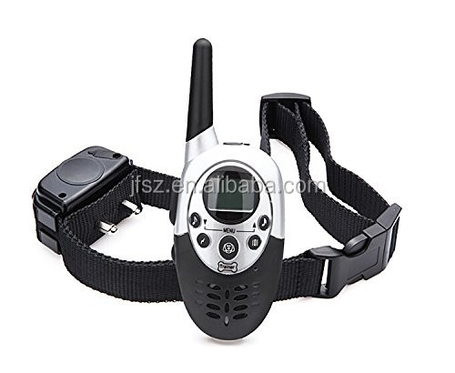 Professional static shock pet accessories rechargeable dog training collar E613 for two dogs