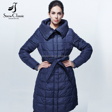 High quality mid-length ladies jacket / woman jacket winter coat