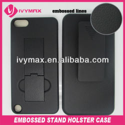 high quality celular for ipod touch 5 kickstand case