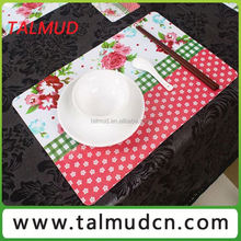 Contemporary promotional kids plastic placemats