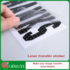 QingYi best quality hologram sticker for fabric