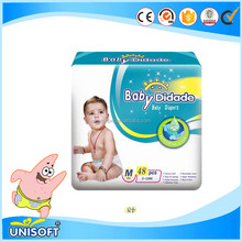 2016 J92 ecological disposable adult baby diapers export manufacturers in india