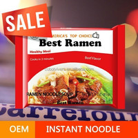 Top Quality Instant Noodles Exporter / OEM Package Cup Noodles / Health Ramen Food