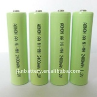 1.2V NIMH AA 2300mah rechargeable batteries