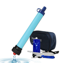 Free shipping Outdoor Hiking Emergency Camping Equipment Personal Water filter purifier kit