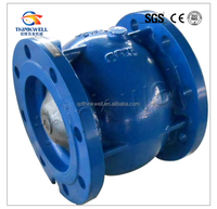 Cast Iron Silent Axial Flow Check Valve For Water Pump System