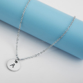 Online Shop Personalized Initial Letter Pendant Necklace