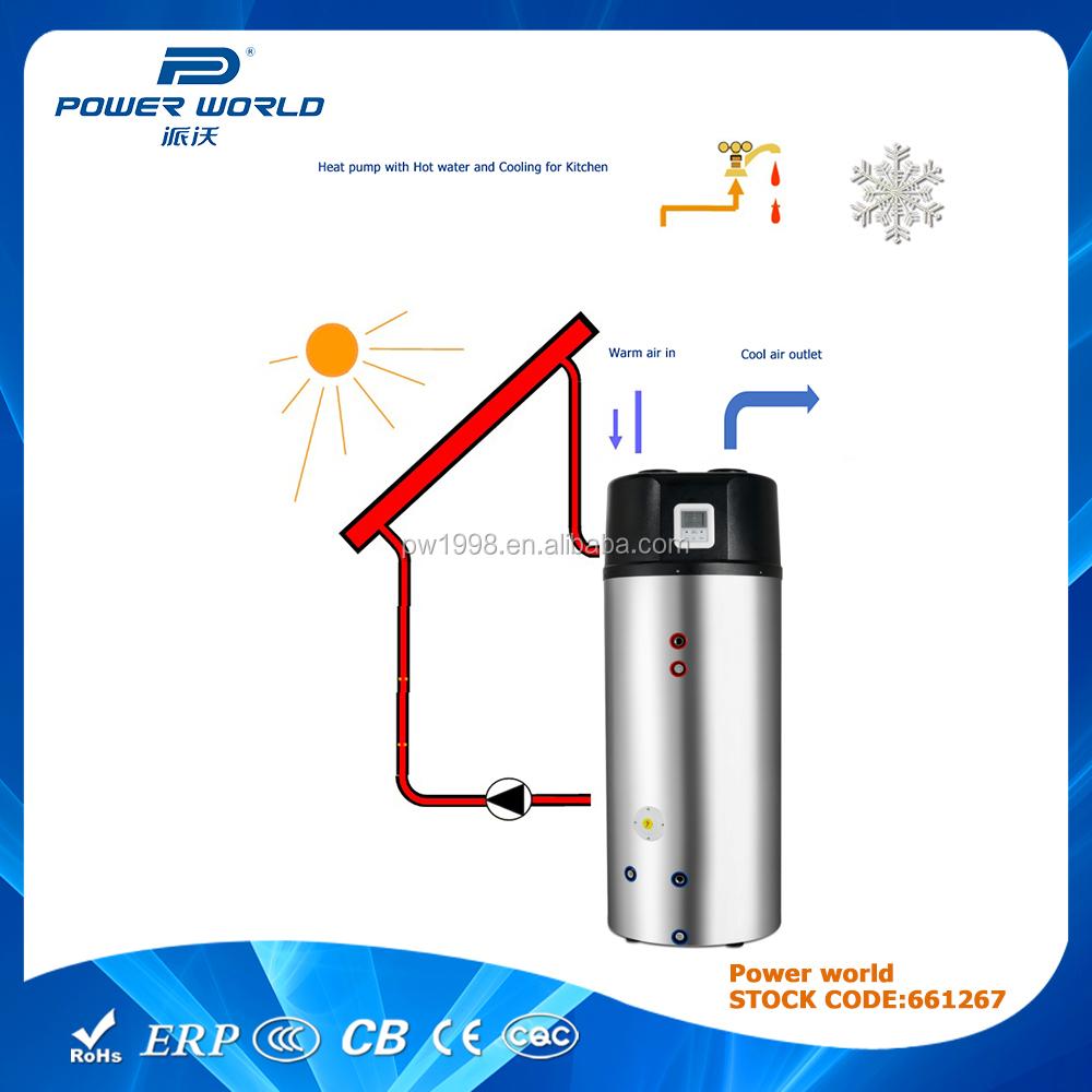 puissance mondiale solaire d 39 nergie combiner air source pompe chaleur chauffe eau chauffe eau. Black Bedroom Furniture Sets. Home Design Ideas