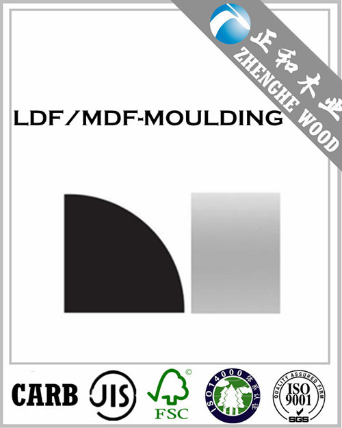 Pre-finished for easy painting/MDF-LDF Moulding