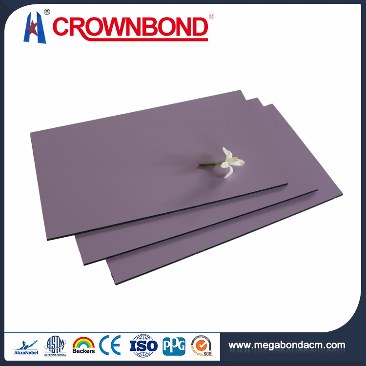 Crownbond Top Quality PVDF/PE aluminum insulated roof panel