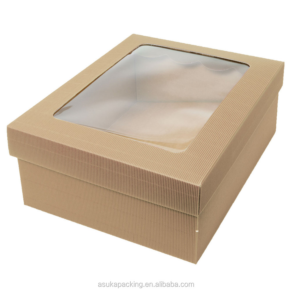 Packaging Boxes Packaging Jewelry Gift Box With Clear Lid