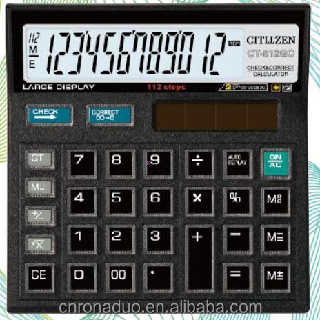 CT-512GC crystal key skd office desktop calculator CT-512GC calculator SKD