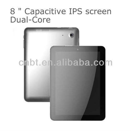 high configuration 8 tablet pc android aluminum case