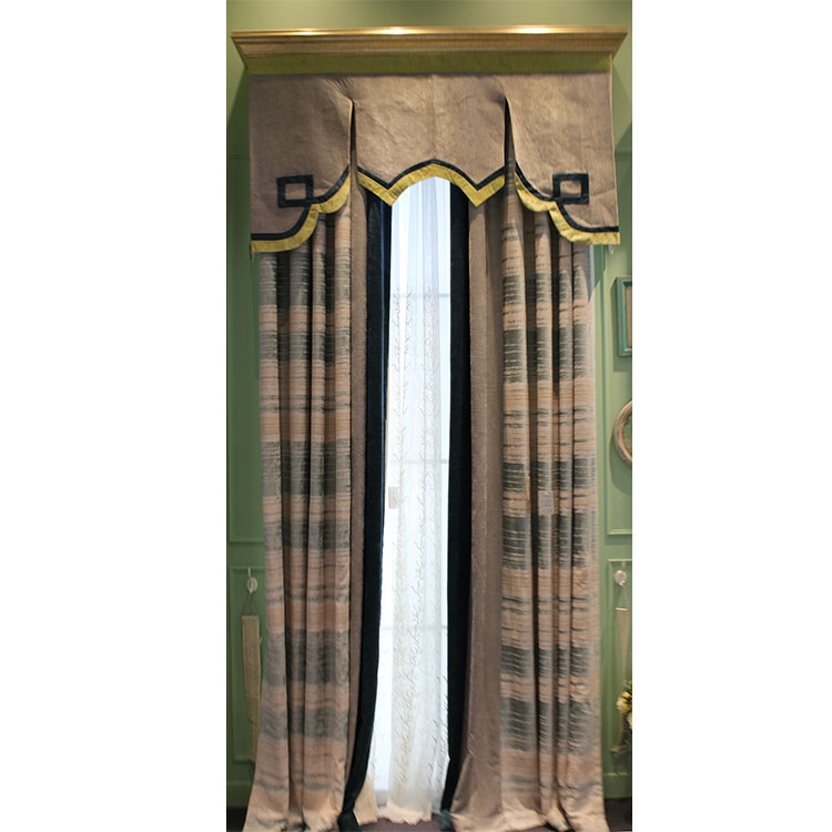 popular track motorized rolling classical rolling retractable paper blackout curtain