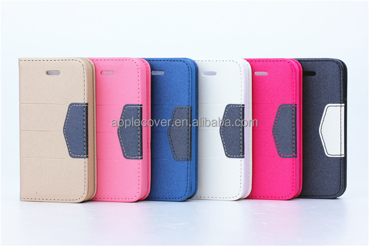 Leather cover For samsung galaxy s4 i9500 brand new mobile phone