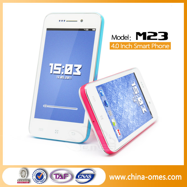 M23 Hot Sale 2 Camera WIFI GPS 3G WCDMA Telefonos