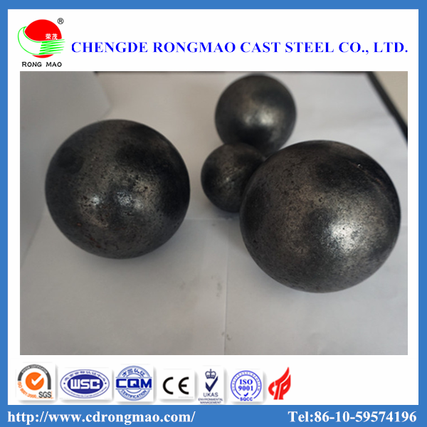 Low Chromium Casting Iron Grinding Balls For Cement