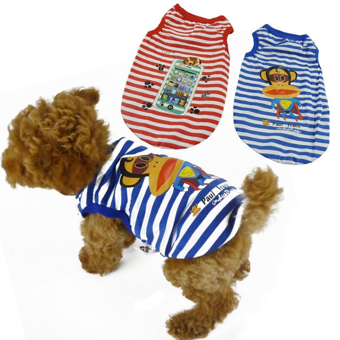 New Arrival Dog Clothing Anchor Stripe Cute Dog Clothing from China Summer Cheap Dog Clothing
