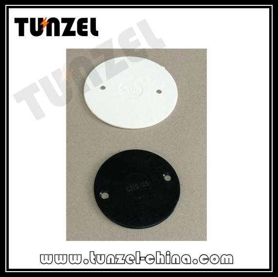 Electrical Plastic Round Junction Box Circular Cover