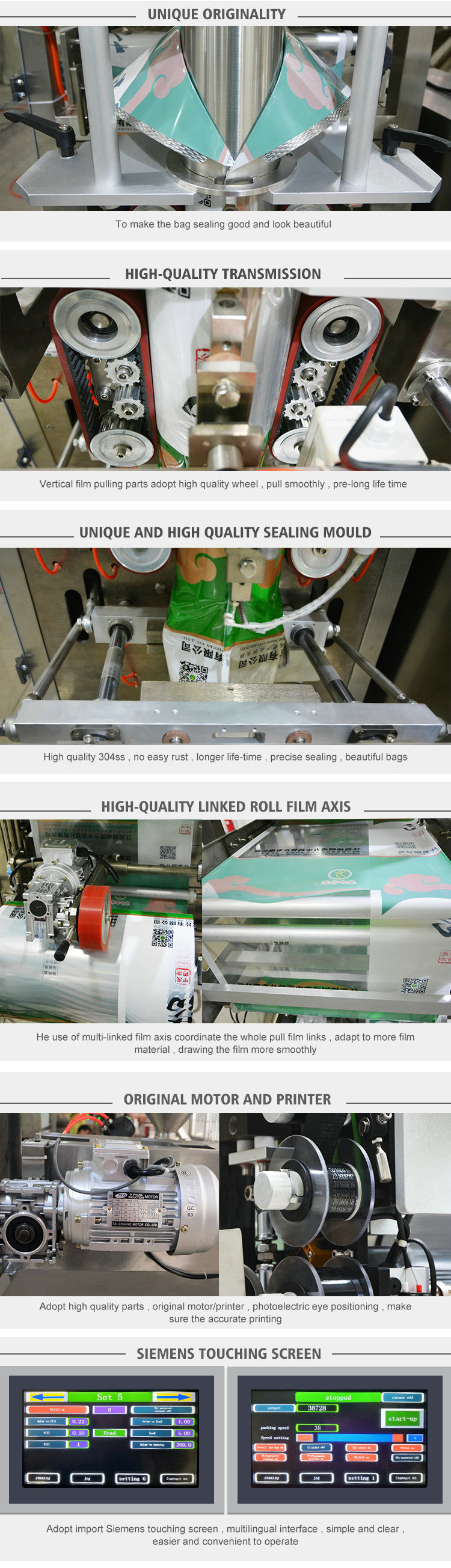 1000ml fruit juice filling and packing machine