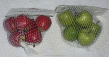 Lot of Miniature Small Artificial Faux Fake Fruit Red & Green Apple Food Decor