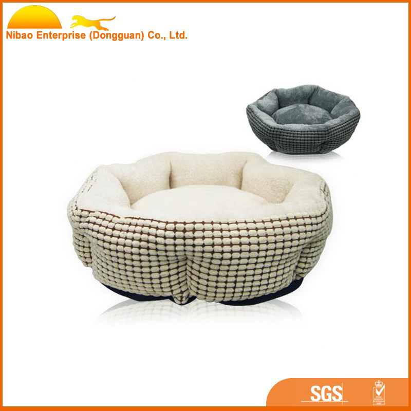 Wholesale soft plush cotton bed small dog pet house