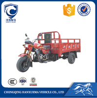 Chongqing 200cc trike scooter for cargo delivery with open body