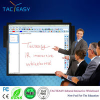 Infrared High definition electronic smart whiteboard for school teching and office