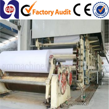 Hot Sell 1575mm 10T/D computer printing paper/copy paper manufacturing machine, paper recycling machine for a4