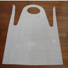 Eco-friend disposable PE apron hospital best selling surgical apron