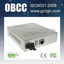 OBCC supply excellent quality fiber to ethernet converters