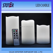 color changing feature battery operated color changing led candle with remote