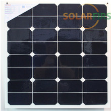 50w marine semi flexible solar panel with high quality at low price