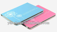 folding tablet cover pu leather case for iPad