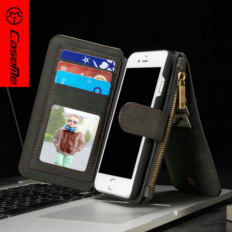 Top Selling Case for i Phone 7 Accessories Leather Cell Phone Cover for Apple iPhones 7 Smart Wallet Case for iPhone