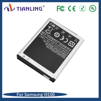Hot selling cell phone replacement li-ion battery 1650mah china mobile phone battery for samsung i9100