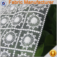 new fashion 100% polyester swiss double organza lace african organza lace fabric