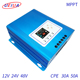 High tracking efficiency 12V24V48V 30A 50A 60A MPPT solar charge controller for solar panel system charge