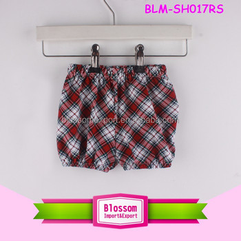 Summer boutique shorts baby children shirt shorties outfit fashion wholesale waist elastic boys bulk plaid seersucker shorts