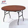 Factory Sale High Quality Melamine Wood Banquet Dining Table