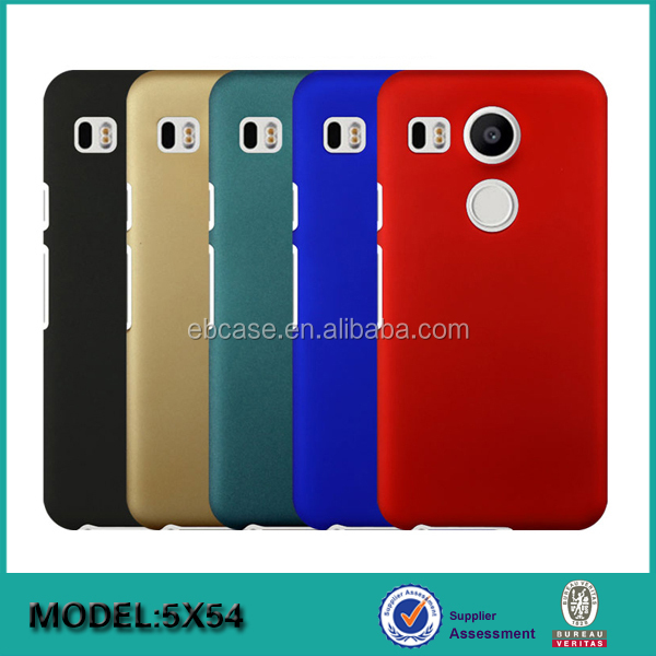 2016 best selling pc frosted mobile phone case for Google nexus 5X,for Google nexus 5X case hard