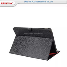Customized 9.7 inch protective cover PU+PC leather tablet case , stand PU cover for ipad air 1 2