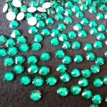 korean high quality hotfix green color for clemson tigers ,iron on transfer rhinestones